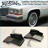 Cadillacc DeVille / Fleetwood 80-89 Front Fender Bumper Fillers Kit fit Brougham