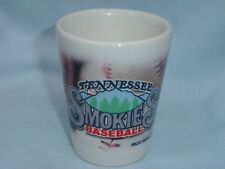 TENNESSEE SMOKIES (Chicago Cubs AA team)  PORCELAIN SHOT GLASS  by Rico  NIP