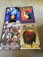 X-Factor Counter X Hardcover HC / TPB Lot of 4 Marvel Comics Beast X-Men