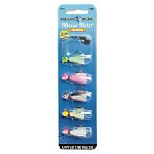 Blue Fox BFGS116K5 Glow Skirt Lure Kit w/ Size 1 Blades (6 Pack)