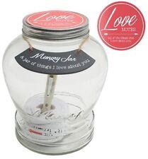 Tarro de memoria de vidrio Splosh Love Notes recuerdo vidas recuerdos especiales Recuerdo Regalo