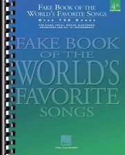 Fake Book of the World's Favorite Songs 4th Edition Sheet Music C Ed. 000240072