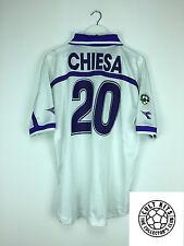 FIORENTINA CHIESA #20 00/01 Away Football Shirt (L) SOCCER JERSEY DIADORA