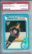 1979-80 Topps #18 WAYNE GRETZKY RC Edmonton Oilers PSA AUTHENTIC