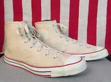 Vintage 1950s Jeepers Canvas High-Top Sneakers Sears Athletic Shoes Sz.14 Huge!