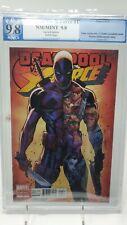 Deadpool Vs. X-Force #1 PGX not CGC 9.8 J. Scott Campbell Variant New Mutants