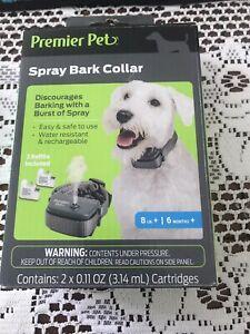 BrandNew Sealed  Premier Pet™ Spray bark Collar  Open Box.