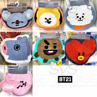 BTS BT21 Official Authentic Goods Indoor Mat 49 x 56cm / 19.2x22in 7Characters