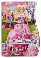Barbie The Princess And The Popstar Singing Tori Transforming Doll 2 In 1 NEW fs