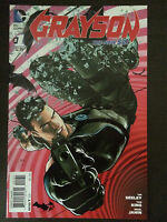 Grayson #1 1:100 2014 Variant DC Incentive Comic Book. Nightwing!