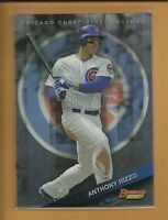 2015 Bowman's Best Anthony Rizzo Card # 24 Chicago Cubs Baseball Champs