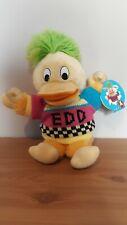 Edd The Duck Car Window Sucker Plush Toy 1990 BBC New Condition With Tag