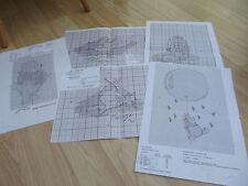 5 x Winnie The Pooh & Friends Cross Stitch Charts by Designer Stitches