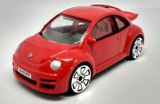 Realtoy VW NEW BEETLE RSI Red Spoilers Big Wheels HTF 1/57 Scale 72mm Diecast