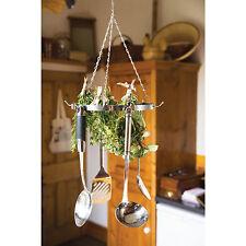 25cm ROUND utensile da & Herb asciugatura Rack da appendere cucina spezie cucina PORTATTREZZI