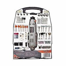 Rotary Multi Tool Kit 135w With 234pc Accessory Set Storage Case Variable SPE