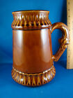 McCoy Beer Stein MCP LARGE Light Brown #6029 signed USA RARE @25