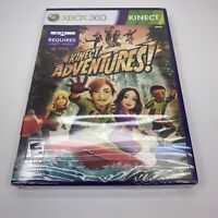 Xbox 360 Kinect Adventures Brand New Factory Sealed