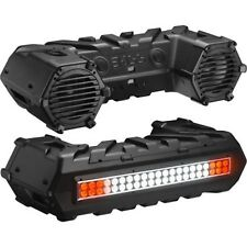 """Boss ATV Amplified Sound System with 8"""" Speakers, Bluetooth  ATVB95LED Lght Bar"""