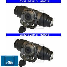 2x RADBREMSZYLINDER ATE 03.3215-2311.3 2 BREMSZYLINDER SET RECHTS LINKS AUDI VW