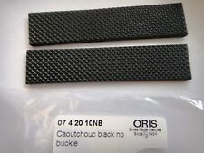 ORIS Ø42mm 07 4 20 10 BC3 Day Date RUBBER band strap bracelet 20mm 7534 7500
