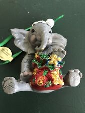 Danbury Mint -The Baby Animal Ornament - Elephant