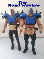 WWE Mattel The Road Warriors Basic Battle Pack loose figures w/tag titles
