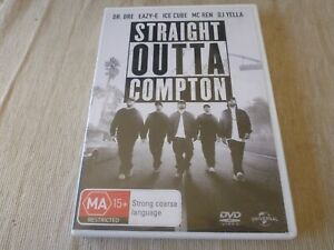 Straight Outta Compton (DVD, 2016) Region 2 & 4 & 5 O'Shea Jackson Jr.