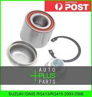 Fits SUZUKI IGNIS RG413/RG415 2003-2008 - Rear Wheel Bearing Repair Kit 25X52X42