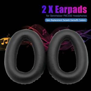 2pcs Earpads Over-Ear Earphone Earmuffs Cushion for Sennheiser PXC550 Headphone