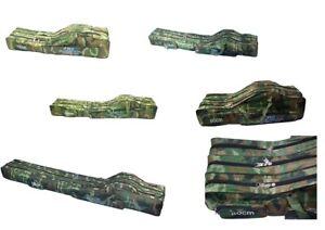 80-210 cm versteift Angeltasche Rutentasche Rutenfutterale Angelrutentasche X3
