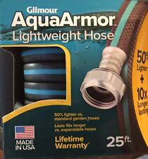 """Gilmour AquaArmor Lightweight Hose 1/2"""" x 25 Ft"""