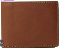 Fossil Men's Roman Leather Bifold Flip ID Wallet