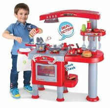 REAL ACTION KIDS TOY KITCHEN PLAY SET