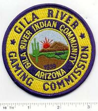 Gila River Indian Community Gaming Commission (Arizona) Shoulder Patch - 1980's