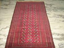 Antique Tekke Turkmen Rug carpet wool 6'x4'