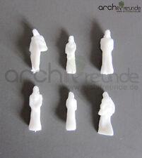 15 x Modello Figure Arabo Umano, bianco incolore, per modellismo 1:100 scala TT