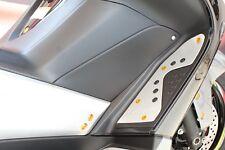 EVOTECH KIT VITI CARENA YAMAHA T-MAX 500 2008 2009 2010 2011 SCREWS WHITEMAX