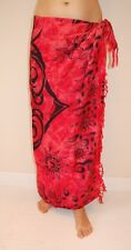 NEW UNISEX CELTIC DESIGN IN RED & BLACK SARONG BEACH WRAP PAREO COVER UP / sa155