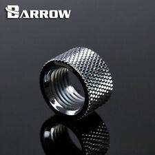 """Barrow G1/4"""" Silver Dual Female Extender Fitting - 10.5mm Watercooling -80"""