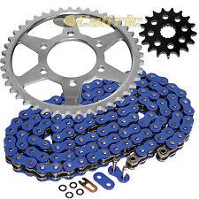 Blue O-Ring Drive Chain & Sprockets Fits KAWASAKI ZZR1200 Ninja ZX1200C 2002-05