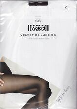 Collant WOLFORD VELVET DE LUXE 66 deniers Château (Brown). Taille XL. Tights.