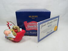 "Grolier Presidents Edition Snow White Dwarf ""Sleepy"" Ornament Great Gift S7 2.04"