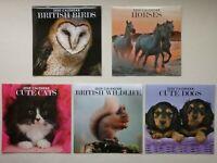 2020 Large Calendar ~ British Birds, Horses, Cute Cats, British Wildlife or Dogs