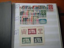 NATIONS UNIES  n° 1/39**. 21/34**. BF 1**. cote mini 570€.