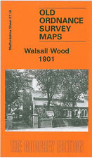 OLD ORDNANCE SURVEY MAP WALSALL WOOD 1901