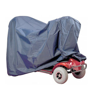 UK SELLER LARGE WATERPROOF MOBILITY SCOOTER RAIN COVER STORAGE 420D POLYESTER