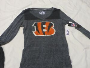 NFL Cincinnati Bengals Long Sleeved T-Shirt Women's Medium/M NWT!