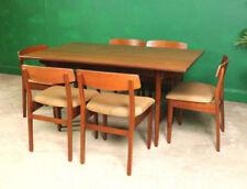 Teak Vintage/Retro Rectangular Table & Chair Sets
