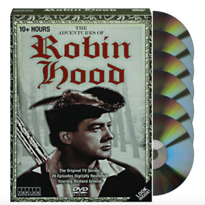 The Adventures of Robin Hood Special Collector's Set (DVD, Box Set, 6 Discs) NEW
